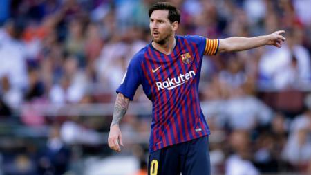 Lionel Messi di laga Barcelona vs Bilbao. - INDOSPORT