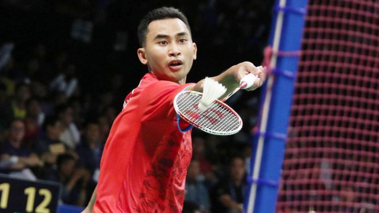 Tommy Sugiarto, pebulutangkis Indonesia. Copyright: badmintonindonesia