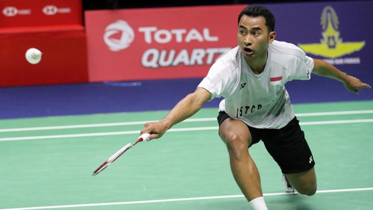 Tommy Sugiarto, pebulutangkis Indonesia. Copyright: bwfbadminton