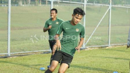 Penggawa Timnas Indonesia U-19, Brylian Aldama, akan segera diumumkan menjadi pemain baru dari klub besar Kroasia, HNK Rijeka. - INDOSPORT