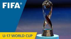Indosport - Trofi Piala Dunia U-16 FIFA