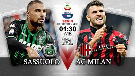 Sassuolo vs AC Milan (Prediksi) - INDOSPORT