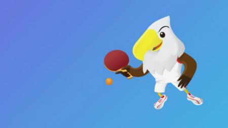 Tenis meja di Asian Para Games 2018. - INDOSPORT