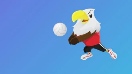Voli di Asian Para Games 2018. - INDOSPORT