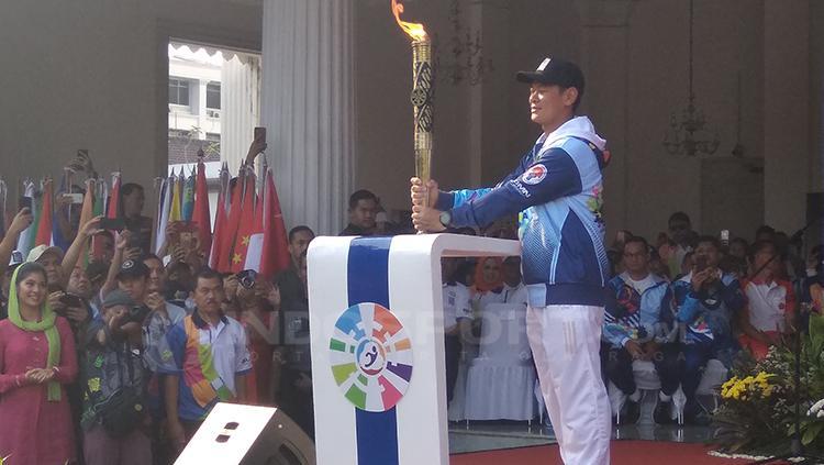 Ketua Inapgoc, Raja Sapta Oktohari. Copyright: Martin Gibsian/INDOSPORT
