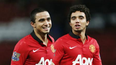 pemain kembar eks Man United, Rafael dan Fabion. - INDOSPORT