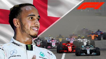 Lewis Hamilton juara Formula 1 di Rusia. - INDOSPORT