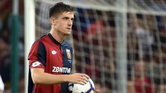 Indosport - Krzysztof Piatek pemain Genoa.