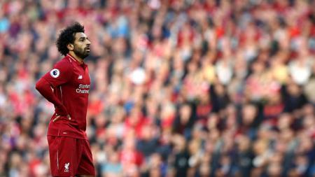 Striker Liverpool, Mohamed Salah. - INDOSPORT