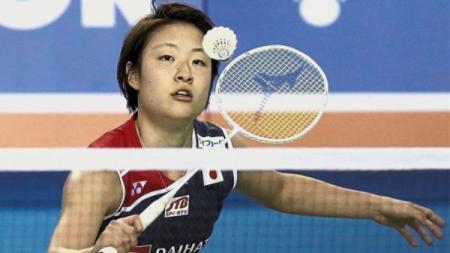 Pebulutangkis Jepang, Nozomi Okuhara yang berhasil meraih medali emas di Korea Open - INDOSPORT