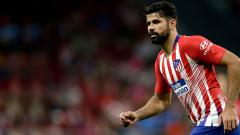 Indosport - Diego Costa, striker Atletico Madrid.