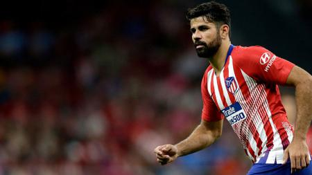 Diego Costa, striker Atletico Madrid. - INDOSPORT