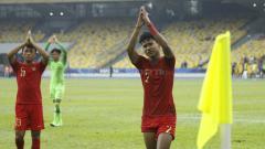 Indosport - Bagas dan Mulyana ucapakan terima kasih usai laga.