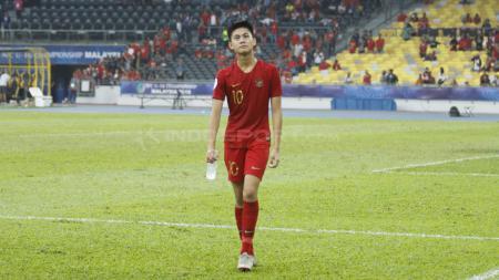 Rendy Juliansyah tampak lesu timnya gagal lolos semifinal Piala Asia 2018. - INDOSPORT