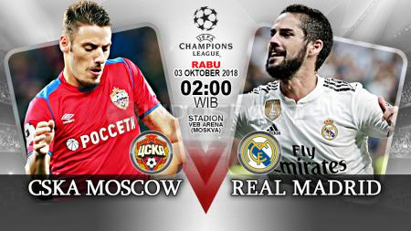CSKA Moscow vs Real Madrid. - INDOSPORT