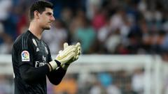 Indosport - Thibaut Courtois, kiper Real Madrid.