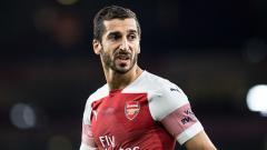 Indosport - Henrikh Mkhitaryan, gelandang serang Arsenal.