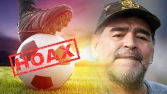 Indosport - Ilustrasi Hoax Dalam Sepak Bola.