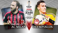 Indosport - AC Milan vs Olympiakos.