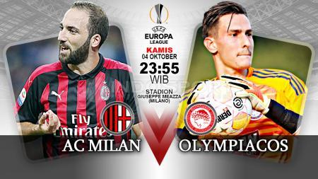 AC Milan vs Olympiacos (Prediksi) - INDOSPORT