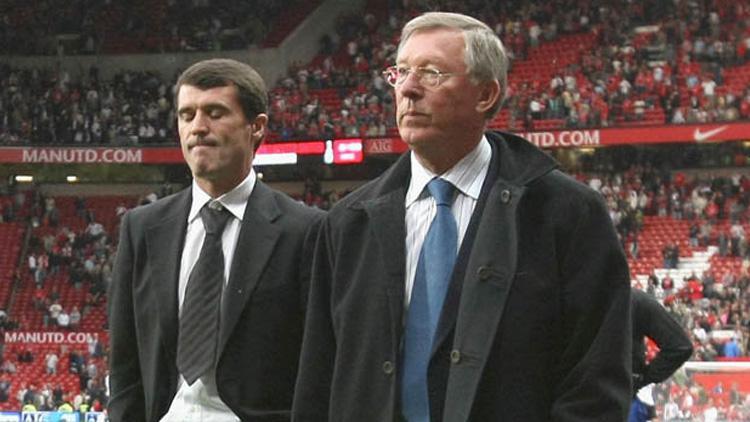 Roy Keane dan Sir Alex Ferguson Copyright: Getty Images
