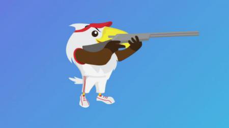 Menembak Asian Para Games 2018. - INDOSPORT