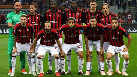 Skuat AC Milan - INDOSPORT