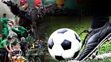 Dirgahayu TNI dan Sepak bola. - INDOSPORT