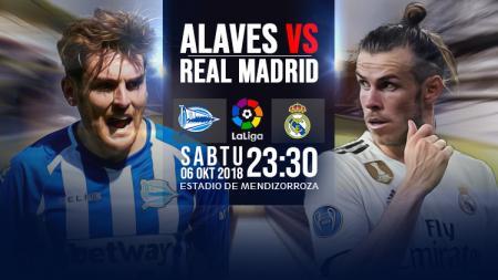 Deportivo Alaves vs Real Madrid. - INDOSPORT