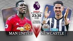 Indosport - Manchester United vs Newcastle United (Prediksi)