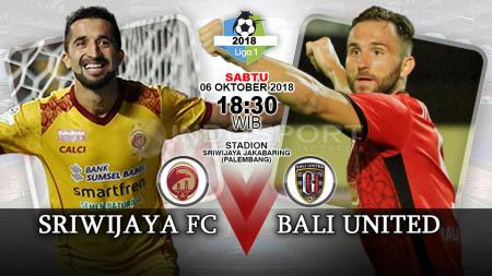 Sriwijaya FC vs Bali United. - INDOSPORT