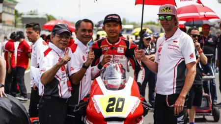 Dimas Ekky jajal Moto2 2019. - INDOSPORT