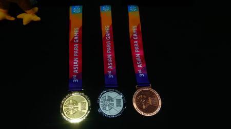 Medali Asian Para Games 2018. - INDOSPORT
