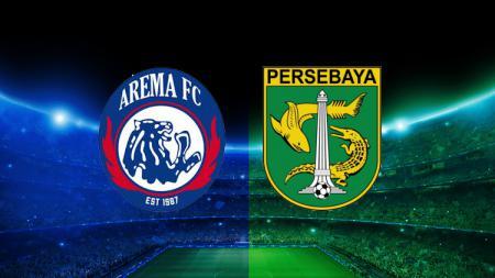 Arema vs Persebaya. - INDOSPORT