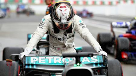 Lewis Hamilton, juara Formula 1 2018. - INDOSPORT