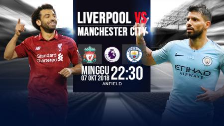 Liverpool vs Manchester City. - INDOSPORT