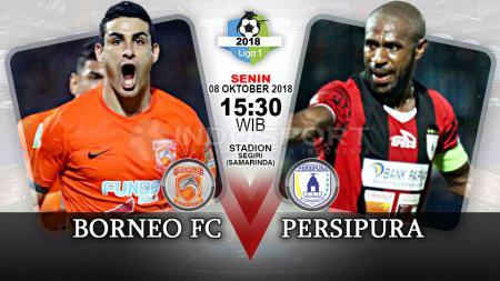 Prediksi Pertandingan Liga 1 2018: Borneo FC vs Persipura Jayapura. - INDOSPORT