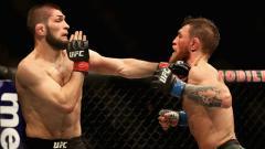 Indosport - Bos Ultimate Fighting Championship (UFC), Dana White siap menggelar pertarung Mixed Martial Arts (MMA) jilid 2 antara Khabib Nurmagomedov vs Conor McGregor.