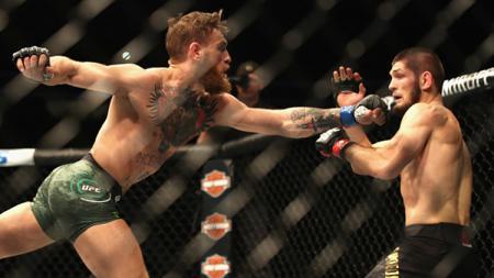 Khabib Nurmagomedov vs Conor McGregor - INDOSPORT
