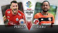 Indosport - Link Siaran Langsung Liga 1 2018: Persija Vs Perseru Serui