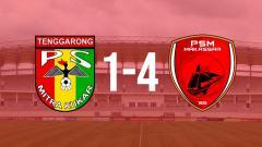 Indosport - Mitra Kukar 1-4 PSM Makassar.