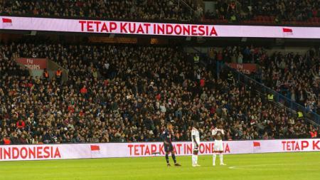 PSG memberikan dukungan kepada Indonesia yang tengah dilanda musibah di Palu. - INDOSPORT