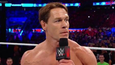 John Cena turut berpartisipasi menyumbang dana bantuan untuk kebakaran hutan California. - INDOSPORT
