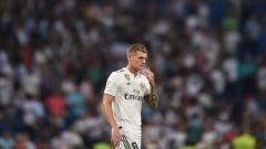 Indosport - Toni Kroos, gelandang serang Real Madrid.