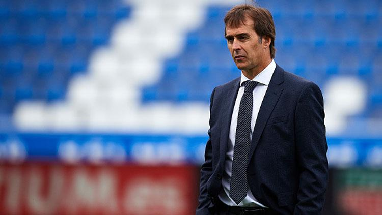 Julen Lopetegui, pelatih Real Madrid. Copyright: INDOSPORT