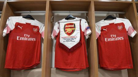 Jersey Arsenal. - INDOSPORT