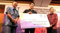 Indosport - Jonatan Christie mendapat kucuran bonus Asian Games 2018 dari PB Tangkas.