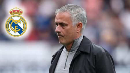 Jose Mourinho kabarnya sempat diminati Real Madrid sebagai pengganti Zinedine Zidane. - INDOSPORT