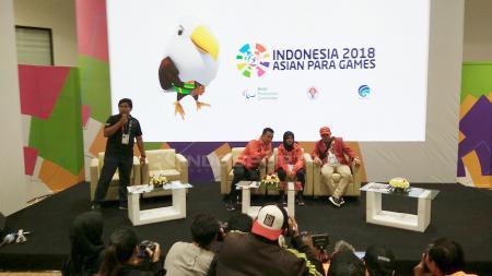 Menpora Imam Nahrawi akhirnya buka suara terhadap polemik atlet Blind Judo disabilitas Indonesia Miftahul Jannah yang enggan melepas hijab saat bertanding di Asian Para Games 2018. - INDOSPORT