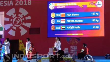 Atlet Powerlifter Asian Para Games 2018 - INDOSPORT